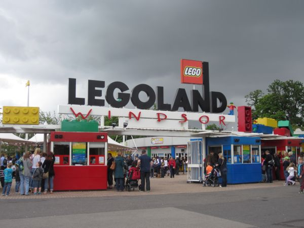 Main Entrance von Legoland Windsor